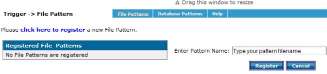 Integration Manager   Batch Workflow   Triggers